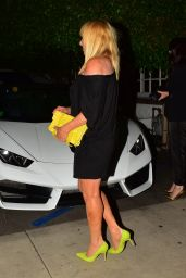 Suzanne Somers - Leaving a Restaurant in Santa Monica 07/13/2019