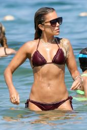Sylvie Meis in a Bikini 07/23/2019