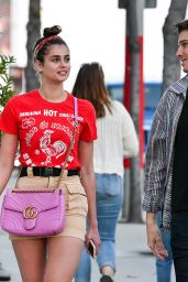 Taylor Hill Cute Style - Arriving to a Concert on Sunset Blvd 06/22/2019