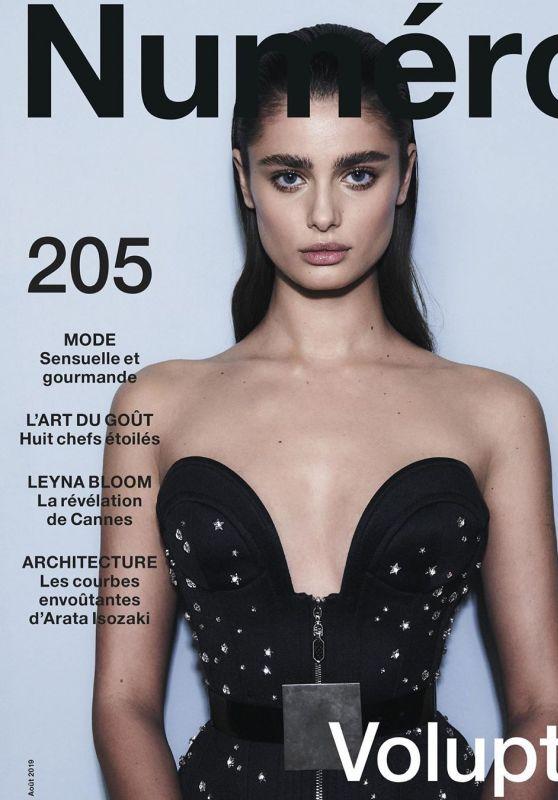 Taylor Hill - Hugh Lippe for Numéro Magazine August 2019