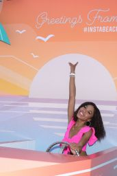 Teala Dunn – 2019 Instagram Instabeach Party in Pacific Palisades