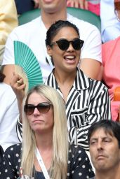 Tessa Thompson at Wimbledon in London 07/08/2019