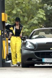 Tulisa Contostavlos - Getting Gas in London 06/25/2019