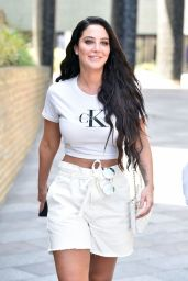 Tulisa Contostavlos - ITV Studios in London 07/23/2019