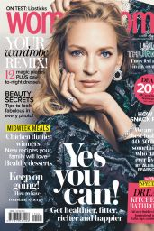 Uma Thurman - Woman and Home Magazine South Africa August 2019 Issue