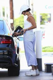 Vanessa Hudgens at a Gas Station in LA 07/17/2019