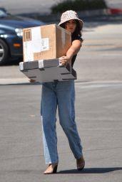 Vanessa Hudgens - Leaving a Dry Cleaner in Los Feliz 07/30/2019