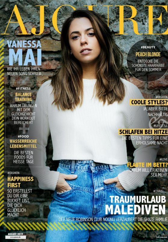 Vanessa Mai - Ajoure Magazine August 2019 Issue