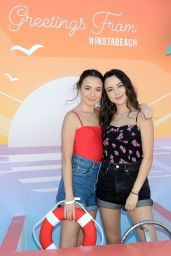 Veronica Merrell and Vanessa Merrell – 2019 Instagram Instabeach Party in Pacific Palisades