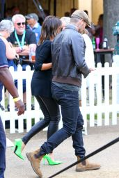 Victoria Beckham and David Beckham at British Summer Time in London 07/07/2019