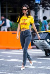 Victoria Justice Street Style - Out in New York City 07/01/2019