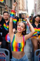 Victoria Justice – WorldPride NYC 2019 March