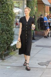 Whitney Port - Leaving Lunch on Melrose Place in West Hollywood 07/30/2019