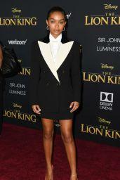 "Yara Shahidi – ""The Lion King"" Premiere in Hollywood"