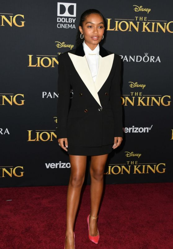 "Yara Shahidi – ""The Lion King"" Premiere in Hollywood"