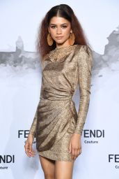 Zendaya - Cocktail at Fendi Couture Fall Winter 2019/2020 in Rome