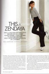 Zendaya Coleman - ELLE Magazine UK August 2019 Issue