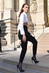 Zendaya Coleman - Giorgio Armani Prive Haute Couture Fall/Winter 2019 2020 Show in Paris