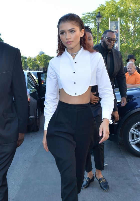 Zendaya Coleman is Looking All Stylish - Paris 07/02/2019