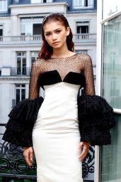 Zendaya - Miu Miu Event at the Fashion Week Haute Couture 2019 in Paris