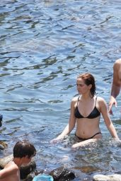 Zoey Deutch in a Bikini - Ischia 07/17/2019