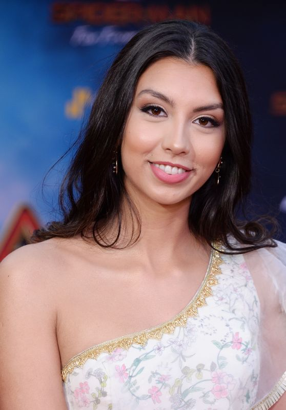 """Zoha Rahman – """"Spider-Man: Far From Home"""" Red Carpet in Hollywood"""