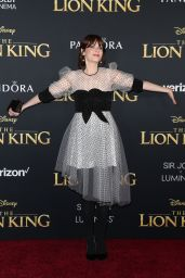"Zooey Deschanel – ""The Lion King"" Premiere in Hollywood"