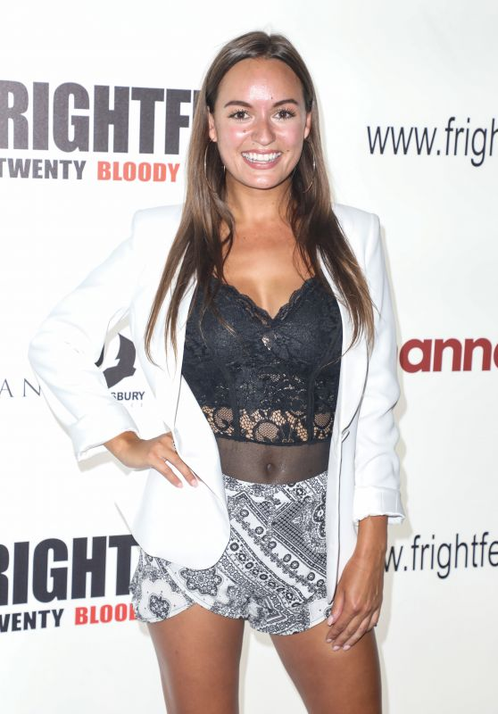 "Alana Wallace - ""Frightfest"" Premiere in London"
