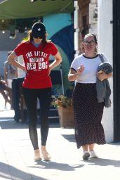 Alexandra Daddario Street Style - Los Angeles 08/28/2019