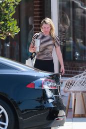 Ali Larter - Leaving Tracy Anderson Gym in Brentwood 08/22/2019