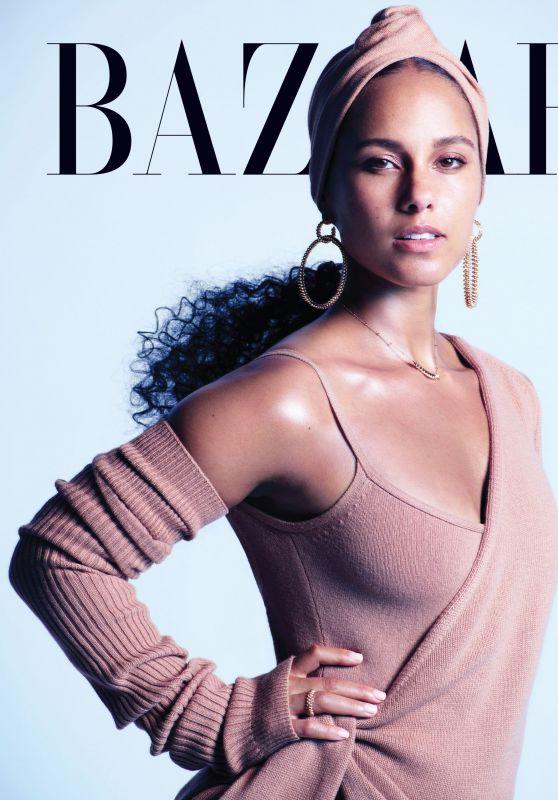 Alicia Keys - Harper's Bazaar US September 2019