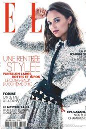 Alicia Vikander – ELLE France 08/23/2019 Issue