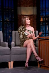 Alison Brie - Late Night With Seth Meyers in NYC 08/14/2019