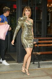 Alison Brie - Leaving The Ludlow Hotel in NYC 08/14/2019