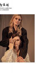 Amanda AJ Michalka and Alyson Aly Michalka - Photoshoot for Schön Magazine May 2019