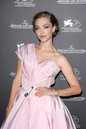 Amanda Seyfried - Jaeger-LaCoultre Gala Dinner at the 76th Venice Film Festival