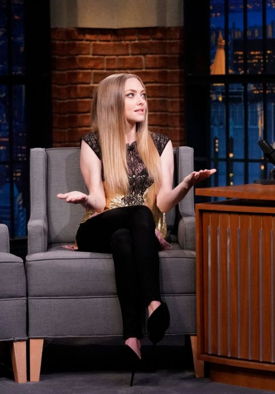 Amanda Seyfried - Late Night With Seth Meyers in NYC 08/07/2019