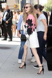 Amanda Seyfried - Outside BUILD in NYC 08/05/2019