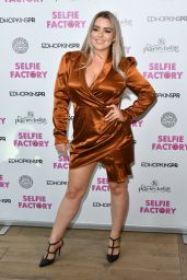 Amy Christophers – The Selfie Factory Westfield Launch Party in London