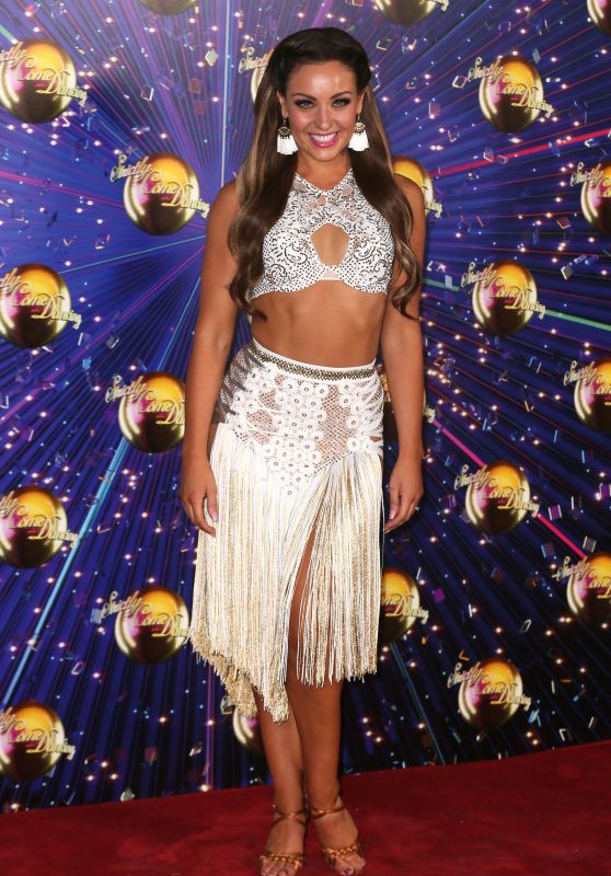 "Amy Dowden – ""Strictly Come Dancing"" TV Show Launch in London 08/26/2019"