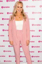 Amy Walsh - Lorraine TV Show in London 08/01/2019