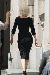 """Ana de Armas - """"Blonde"""" Set in LA 08/29/2019"""