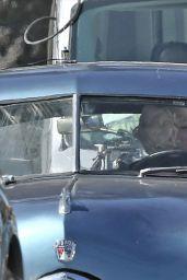 """Ana de Armas - """"Blonde"""" Set in Los Angeles 08/23/2019"""