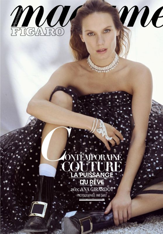 Ana Girardot - Madame Figaro Magazine France 08/02/2019 Issue