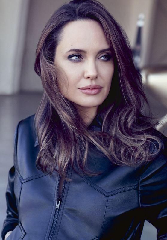 Angelina Jolie - ELLE Magazine September 2019 Issue