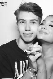 Ariana Grande - Sweetener World Tour Meet & Greet in Paris 08/28/2019