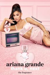 Ariana Grande - thank you, next: the fragrance Campaign August 2019