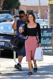 Ashley Tisdale - Joans on Third in Studio City 08/14/2019