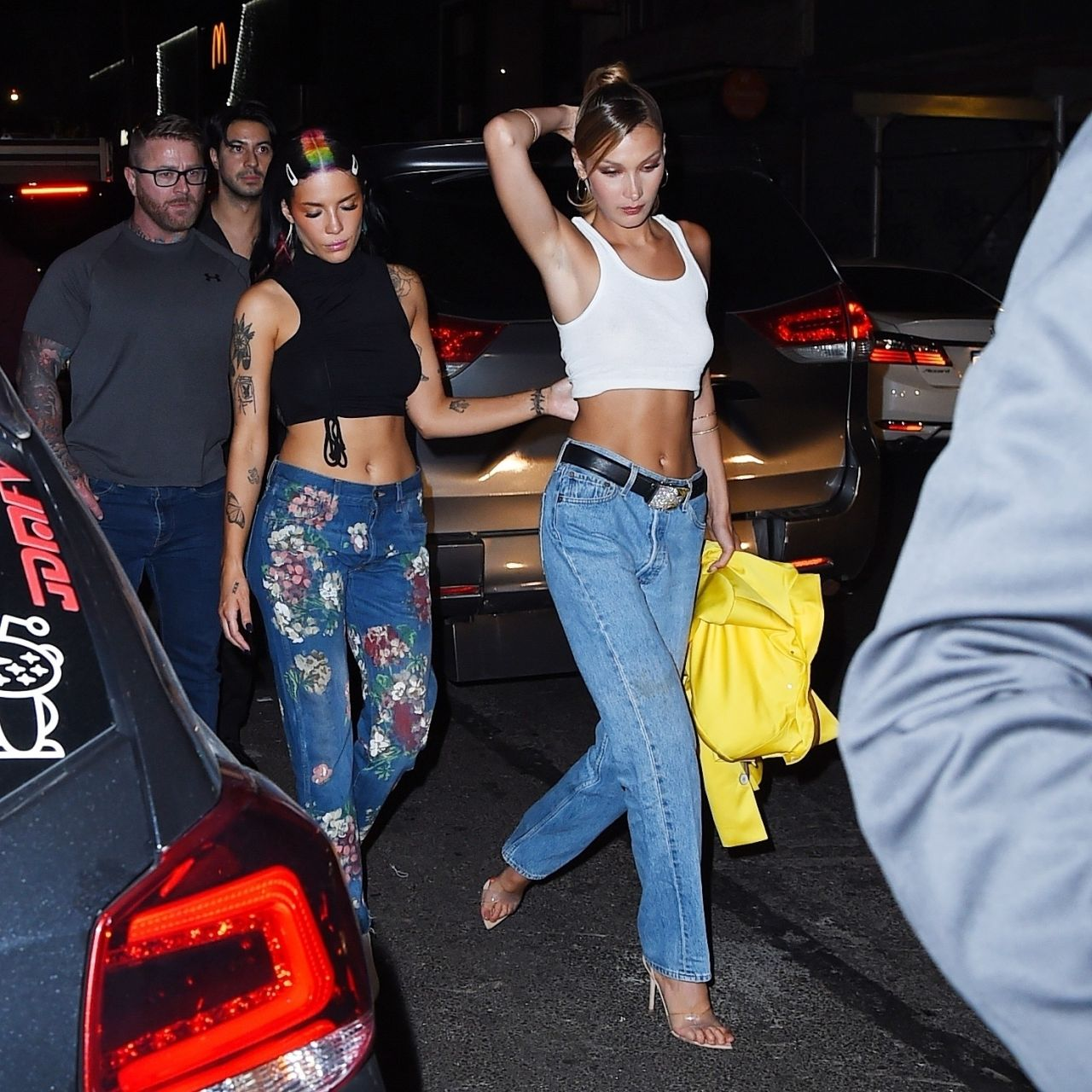 Bella Hadid And Halsey Leaving The 2019 Mtv Vma After Party