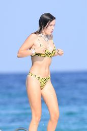 Bella Thorne in a Bikini - Sardinia 08/24/2019